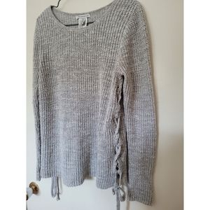 3/30$ AMERICAN EAGLE womens side tie sweater